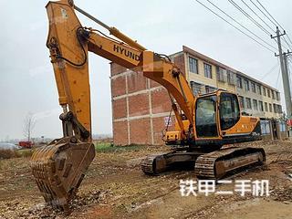 信阳现代R225LC-9T挖掘机实拍图片