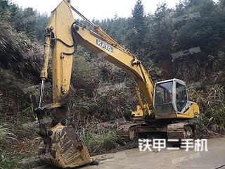 加藤HD820LC-II挖掘机实拍图片