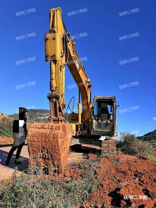 卡特彼勒312C挖掘机实拍图片