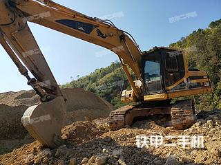 广东-梅州市二手卡特彼勒320B挖掘机实拍照片