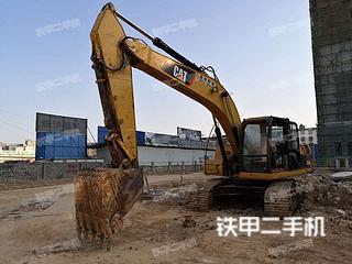 广西-南宁市二手卡特彼勒320D液压挖掘机实拍照片