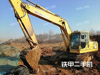 小松PC220-8挖掘机实拍图片