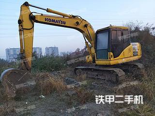 小松PC110-7挖掘机实拍图片