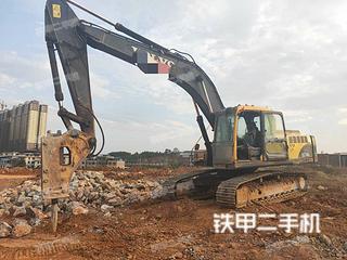 沃尔沃EC240BLC挖掘机实拍图片