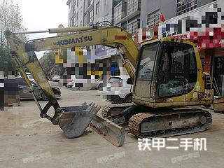 小松PC60-7挖掘机实拍图片