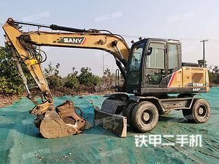 三一重工SY155W挖掘机实拍图片
