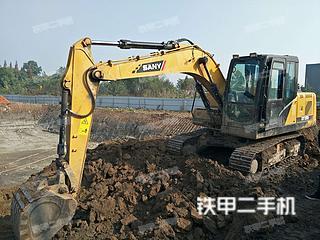 四川-眉山市二手三一重工SY115C挖掘机实拍照片