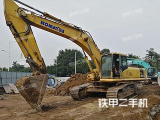 四川泸州市二手小松PC360-7挖掘机实拍照片