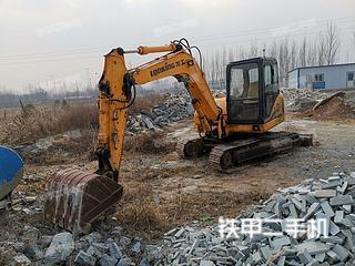 保定龙工LG6085挖掘机实拍图片
