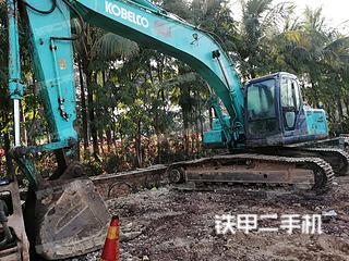 云南双版纳傣族自治州二手神钢SK260LC-8挖掘机实拍照片