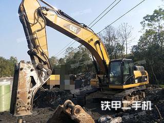 湖南-邵阳市二手卡特彼勒336D液压挖掘机实拍照片
