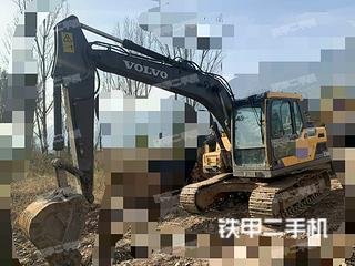 四川-广元市二手沃尔沃EC120D挖掘机实拍照片
