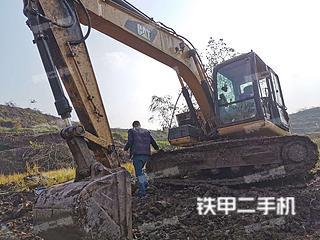 四川-广安市二手卡特彼勒312D2GC挖掘机实拍照片