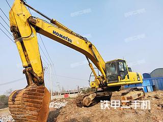 小松PC450-8挖掘机实拍图片