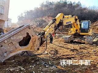 信阳小松PC270-7挖掘机实拍图片