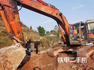 日立ZX250LC-3挖掘机实拍图片