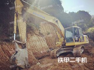 小松PC200-7挖掘机实拍图片