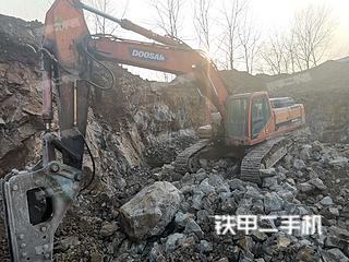 江苏-镇江市二手斗山DH420LC-7挖掘机实拍照片