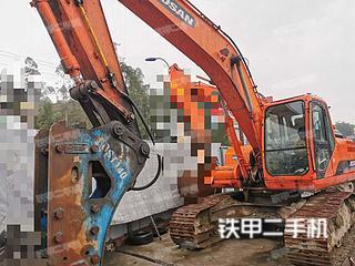 四川-广安市二手斗山DH220LC-9E挖掘机实拍照片