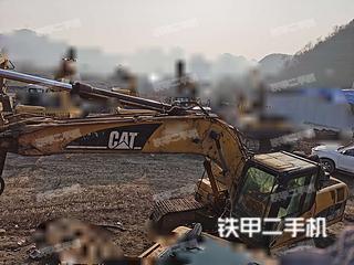 贵州-六盘水市二手卡特彼勒320D液压挖掘机实拍照片