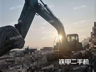 重庆重庆市二手神钢SK260LC-8挖掘机实拍照片