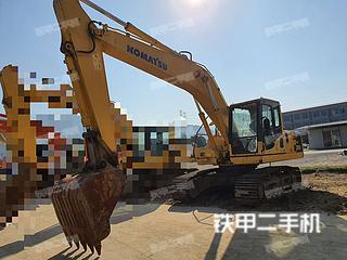 浙江杭州市二手小松PC200-8挖掘机实拍照片