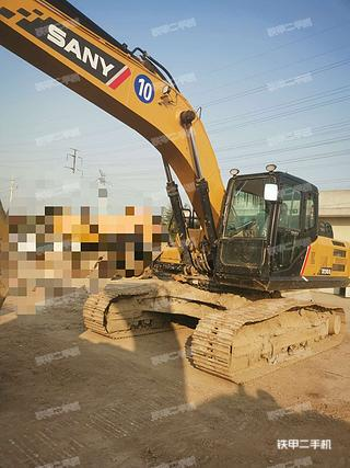 三一重工SY245H挖掘机实拍图片