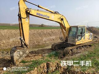 安徽宿州市二手小松PC200-8挖掘机实拍照片