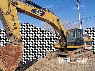保定卡特彼勒336D液压挖掘机实拍图片