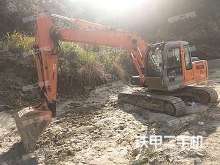 安徽安庆市二手日立ZX120挖掘机实拍照片