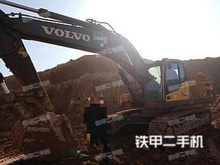 沃尔沃EC380DL挖掘机实拍图片