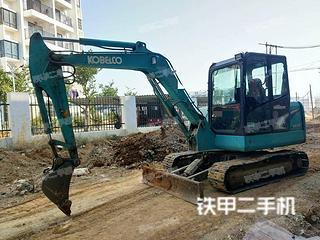 广西-柳州市二手神钢SK60-8挖掘机实拍照片