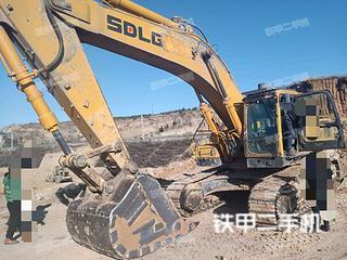 山东临工E6460F挖掘机实拍图片