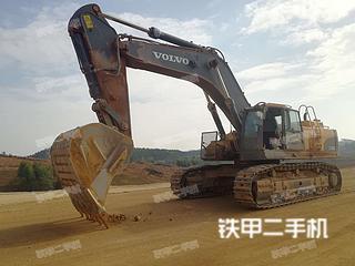 广西-来宾市二手沃尔沃EC700CL挖掘机实拍照片
