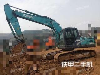 湖南-郴州市二手神钢SK210LC-8挖掘机实拍照片