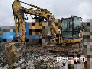 小松PC56-7挖掘机实拍图片
