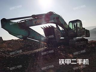 山西-忻州市二手神钢SK350LC-8挖掘机实拍照片