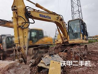 重庆-重庆市二手小松PC130-7挖掘机实拍照片