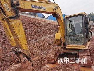 四川-广安市二手小松PC60-7挖掘机实拍照片