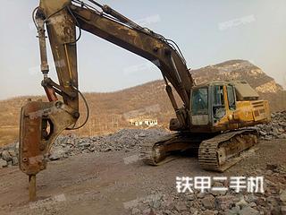 徐工XE370C挖掘机实拍图片