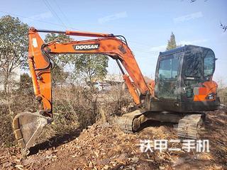 湖北-荆门市二手斗山DX60挖掘机实拍照片