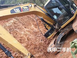 云南-文山壮族苗族自治州二手卡特彼勒313D2 GC液压挖掘机实拍照片