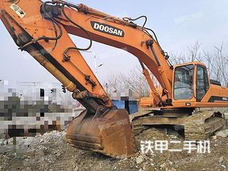 安徽-合肥市二手斗山DH420LC-7挖掘机实拍照片