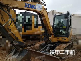 贵州-贵阳市二手徐工XE60D挖掘机实拍照片