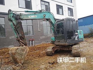 江西-上饶市二手神钢SK75-8挖掘机实拍照片