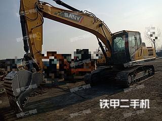 三一重工SY225H挖掘机实拍图片