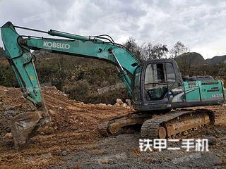 贵州-黔南布依族苗族自治州二手神钢SK210LC-8挖掘机实拍照片