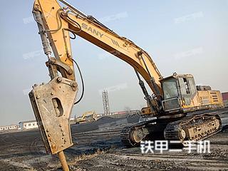 三一重工SY465C挖掘机实拍图片