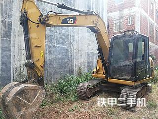 广西-贵港市二手卡特彼勒307D液压挖掘机实拍照片