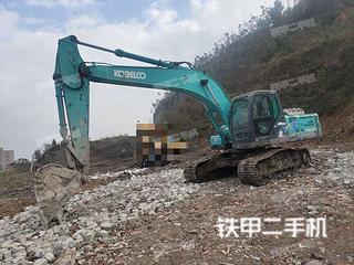 浙江-温州市二手神钢SK250-8挖掘机实拍照片
